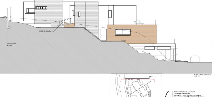 Alzado lateral casa 1